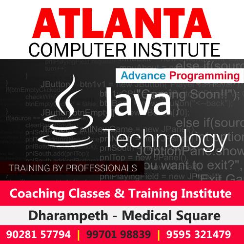 Advance Java Training Classes in Nagpur
